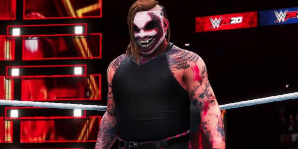 new wwe 2k20 gameplay footage arrives including the fiend royal rumble career mode