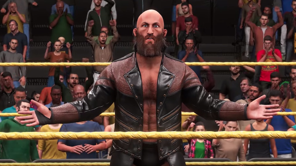 wwe 2k20 tommaso ciampa revealed for new video game