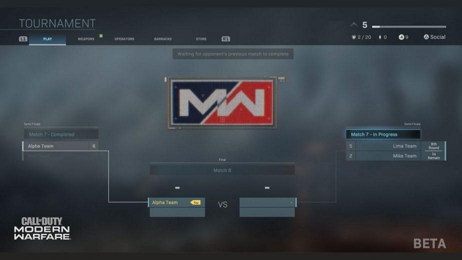Call of Duty Modern Warfare Gunfight Tournament Beta Now Live