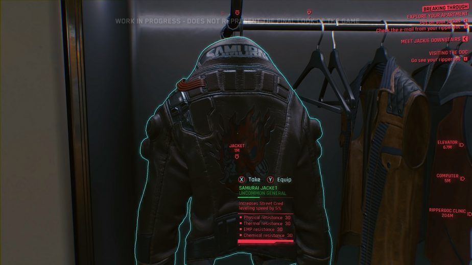 Cyberpunk 2077 Crafting System Won't Include Clothes or Cyberware 2
