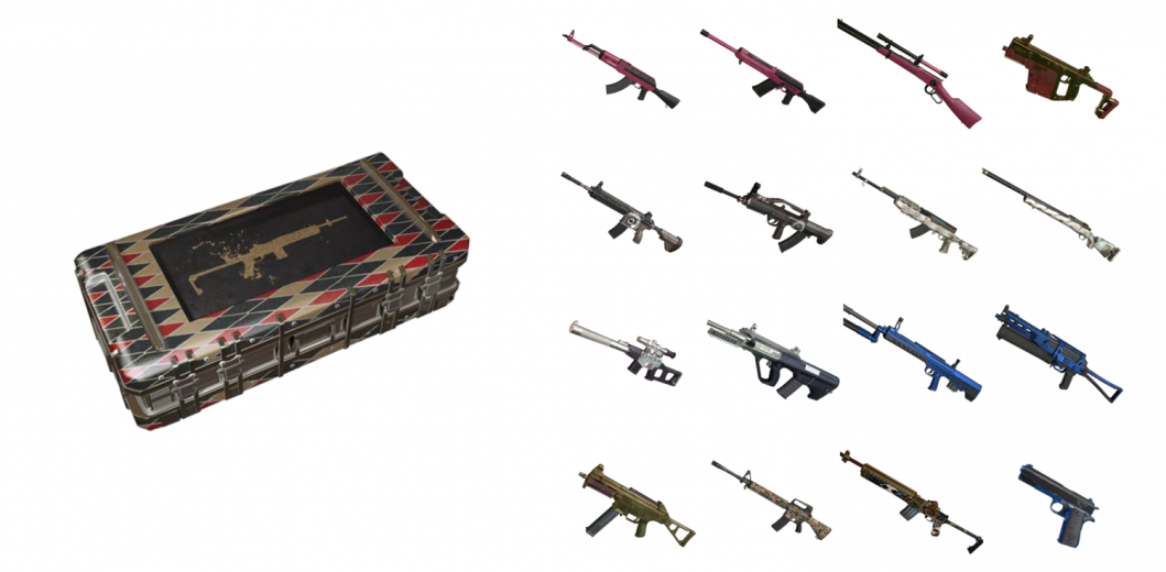 PUBG Crates