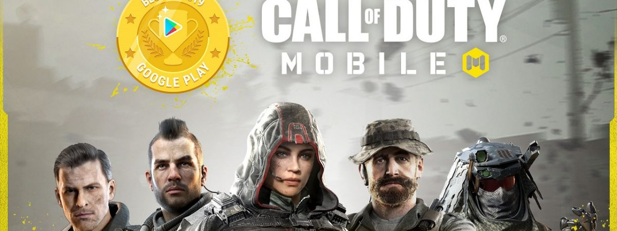 Call of Duty Mobile Wins Google Play Awards 2019