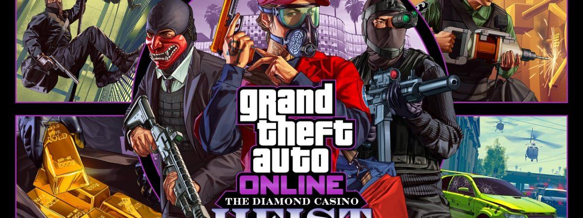 GTA 5 Diamond Casino Heist GTA Online Announced