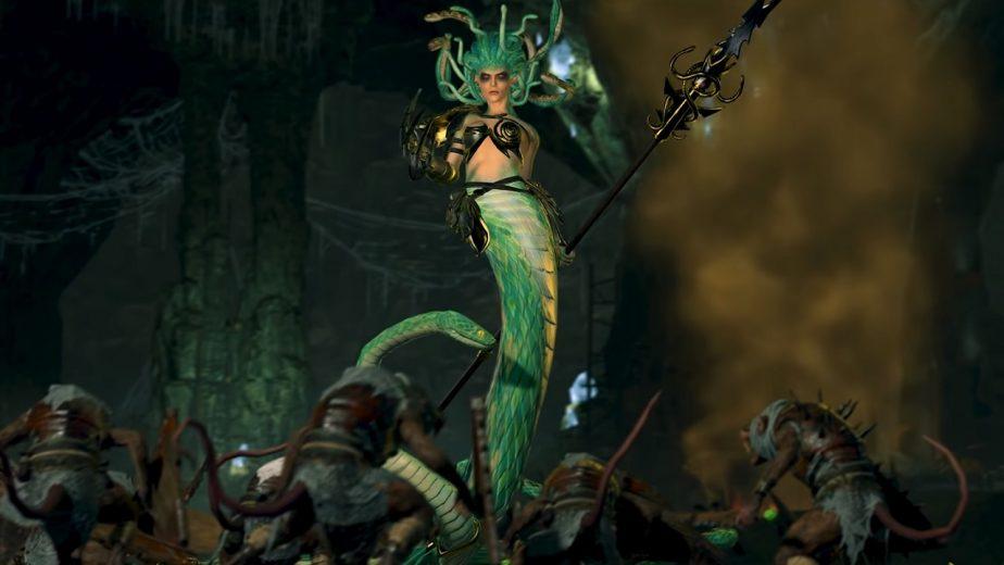 Total War Warhammer 2 DLC Bloodwrack Medusa Trailer 2