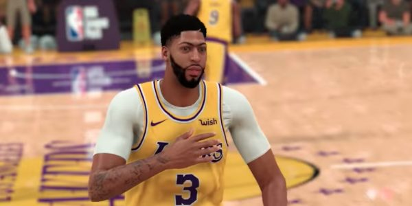 Nba 2k20 Cover Star Anthony Davis Talks About Game In New