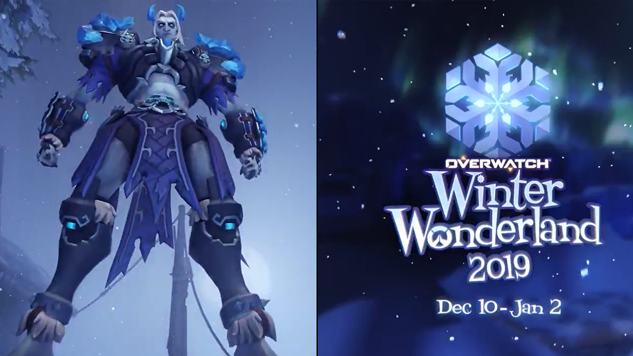Overwatch Winter Wonderland 2020.Overwatch Winter Wonderland 2019 Launches Today