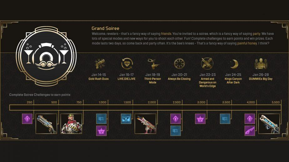 Apex Legends Grand Soiree Event Announced