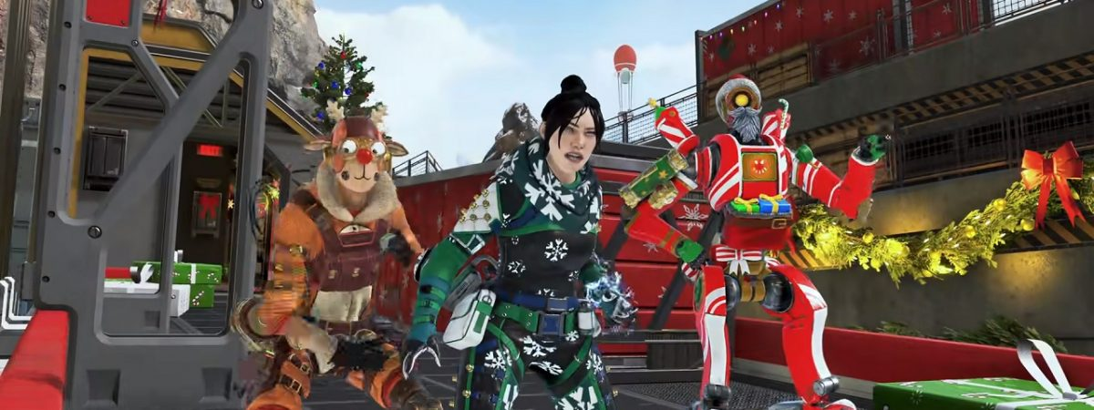 Apex Legends Winter Express Mirage's Holo-Day Bash Event 2