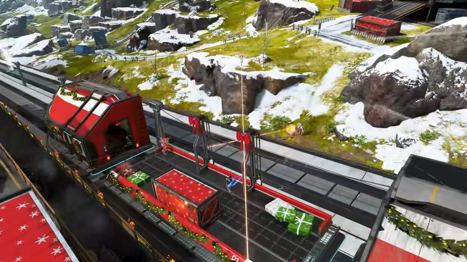 Apex Legends Winter Express Mirage's Holo-Day Bash Event