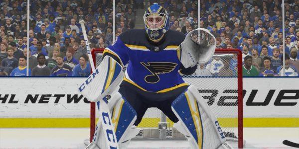 Jordan Binnington gets NHL 20 All Star boost wins save streak in EA mask