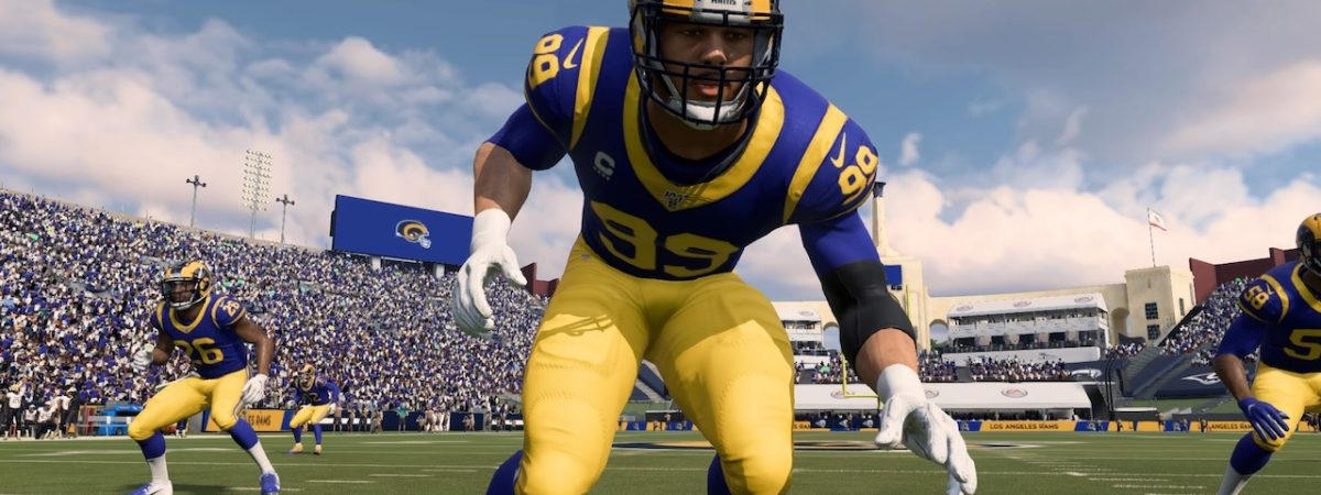 madden 20 team of the year players russell wilson aaron donald