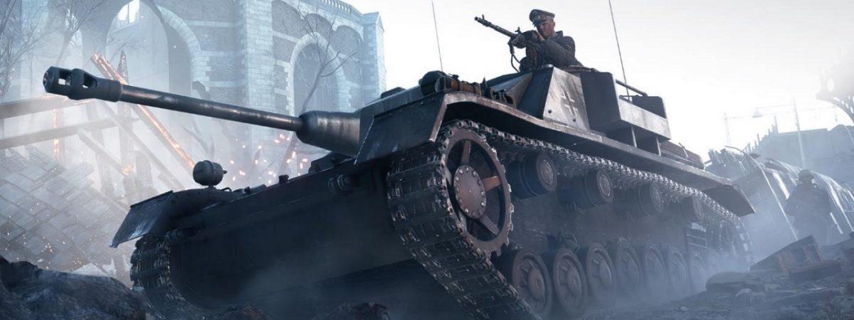Battlefield 5 Tank Body Customisation in Update 6.2 2
