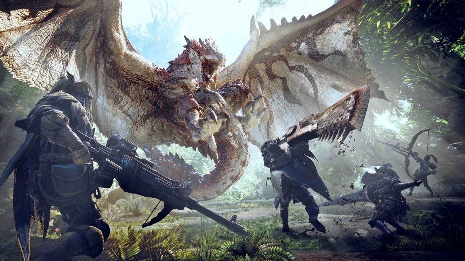 Top 10 RPGs Monster hunter World