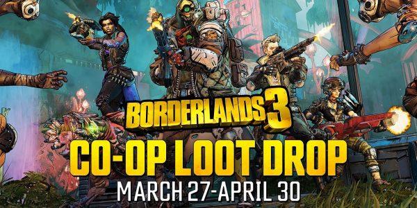 Borderlands 3 Co-op Loot Drop Event Now Live