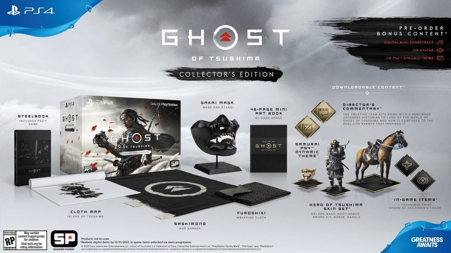 Ghost of Tsushima Pre-Order Guide Collector's Edition