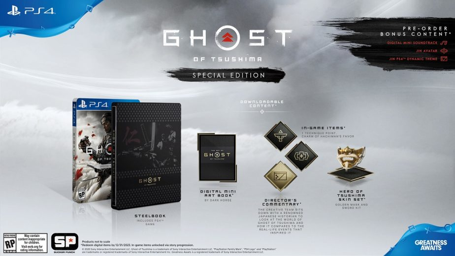 Ghost of Tsushima Pre-Order Guide Special Edition