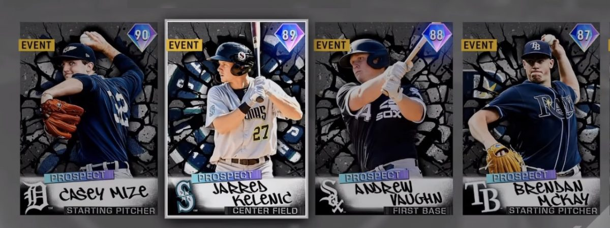 MLB The Show 20 prospects set 3 Casey mize and jarred kelenic