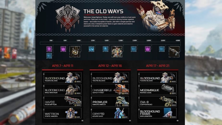 Apex Legends The Old Ways Now Available 2