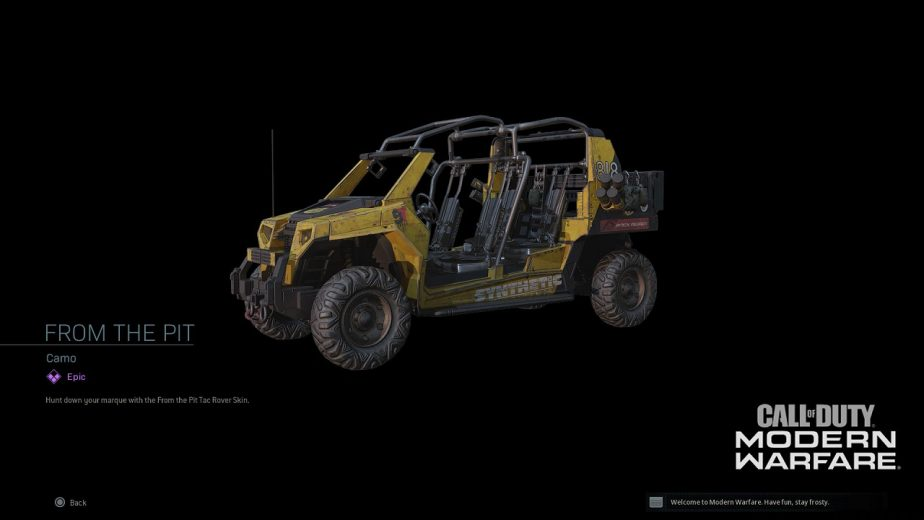 Call of Duty Modern Warfare Season 3 Vehicle Skins Warzone 2