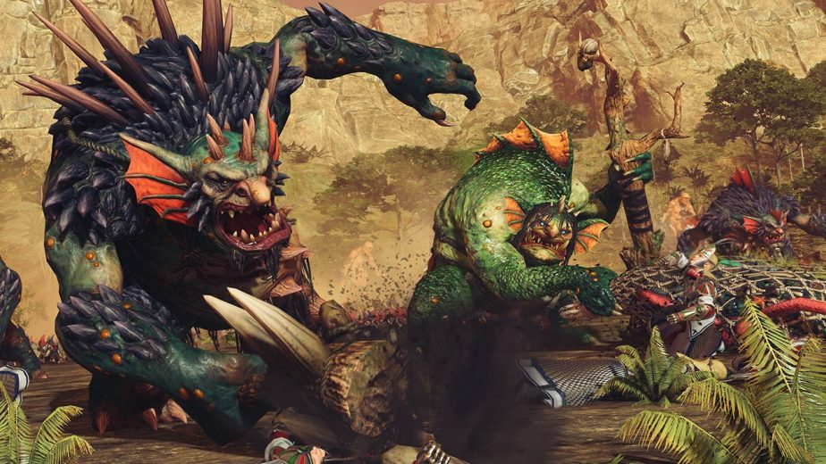 Total War Warhammer 2 The Warden and the Paunch DLC Giant River Troll Hag