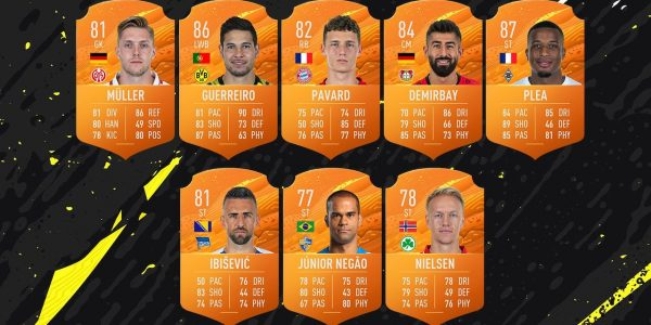 FIFA 20 Bundesliga Man of the Match Players