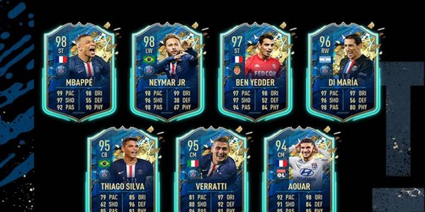 fifa 20 ligue 1 totssf players revealed mbappe neymar jr