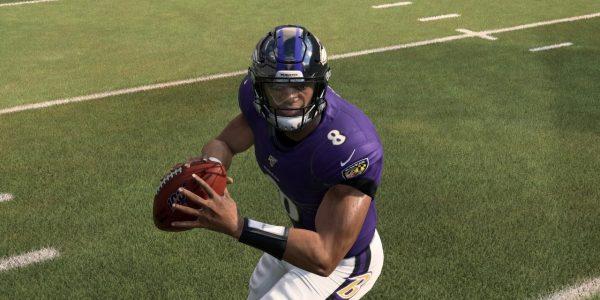 Madden 20 Playoffs Simulation playoffs bracket features Jackson Ravens and Brady Buccaneers
