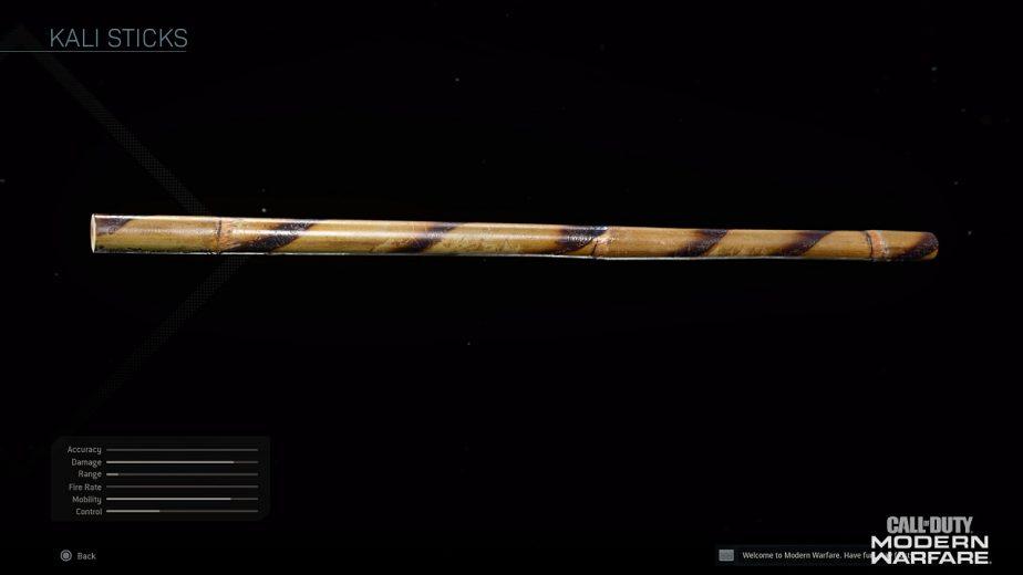 Call of Duty Modern Warfare Kali Sticks How to Unlock 2