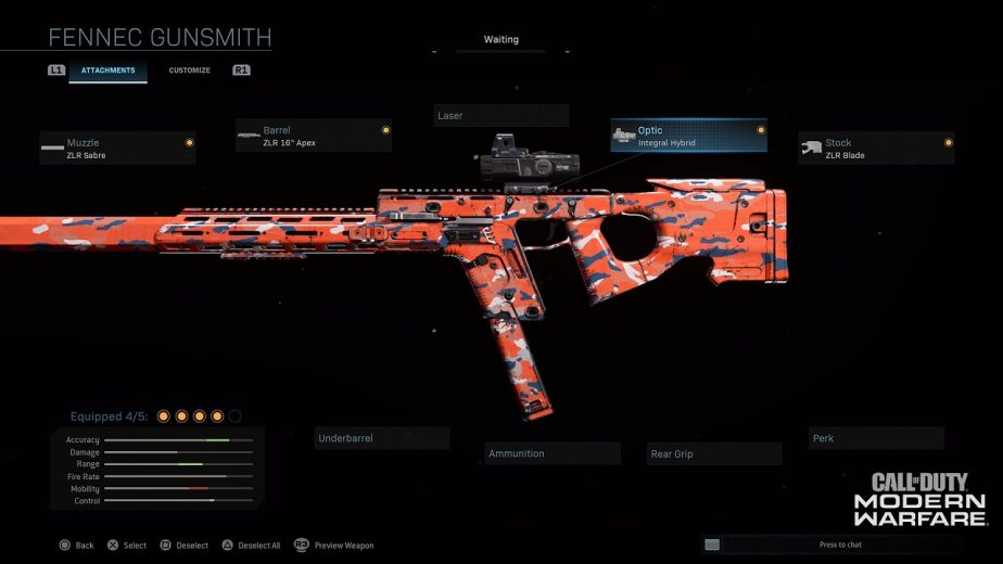 Modern Warfare Season 4 Fennec SMG 2