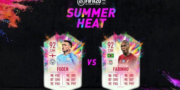 fifa 20 summer heat showdown sbc foden fabinho