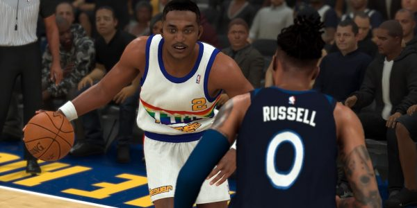 NBA 2k20 throwback moments cards Alex English dangelo Russell