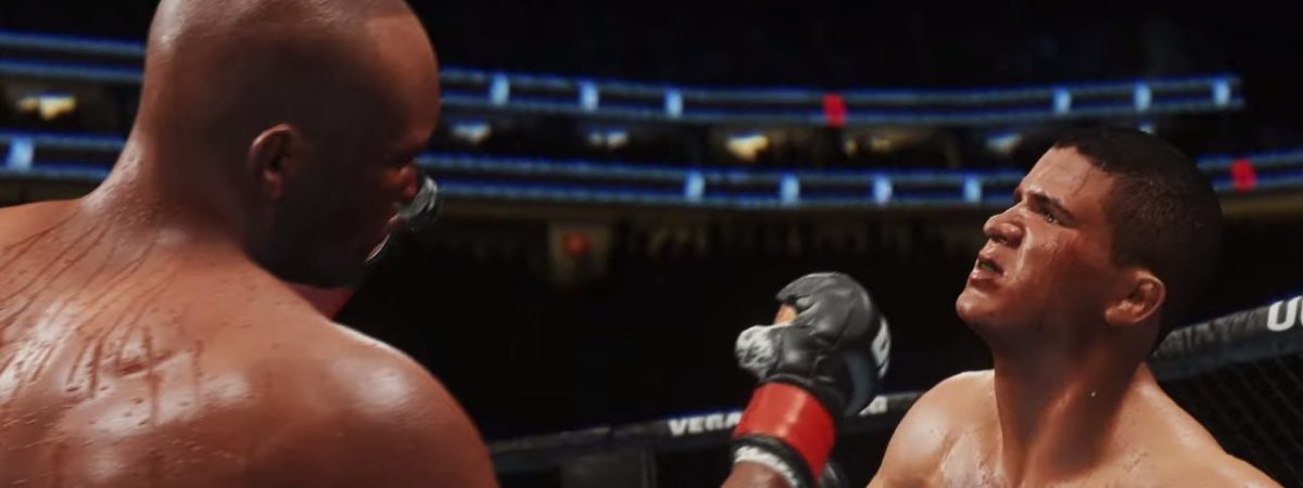 EA UFC Sports 4 gameplay trailer shows off clinch takedown and submission system