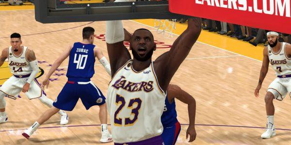 NBA 2K20 MyTeam NBA is Back promotion featuring Galaxy Opals, GOAT Reward