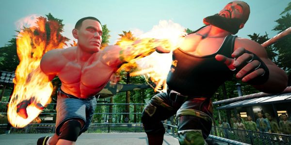 wwe 2k battlegrounds release date cover trailer and pre order details