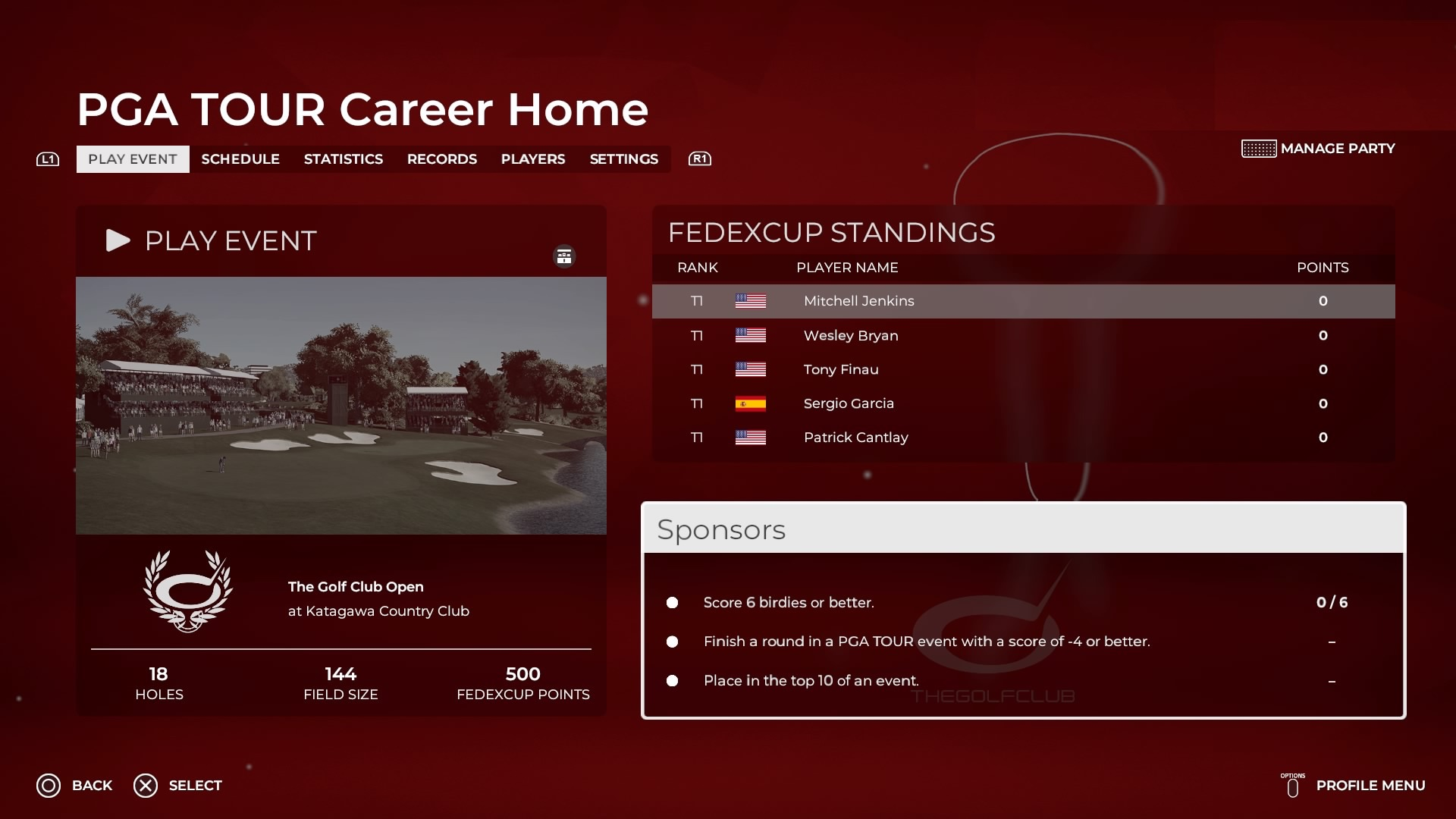 PGA Tour 2K21 Career Mode: How to Get Sponsors With Contract Offers
