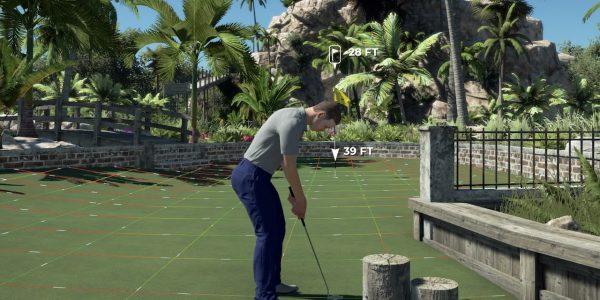 PGA Tour 2K21 courses how to play mini golf course