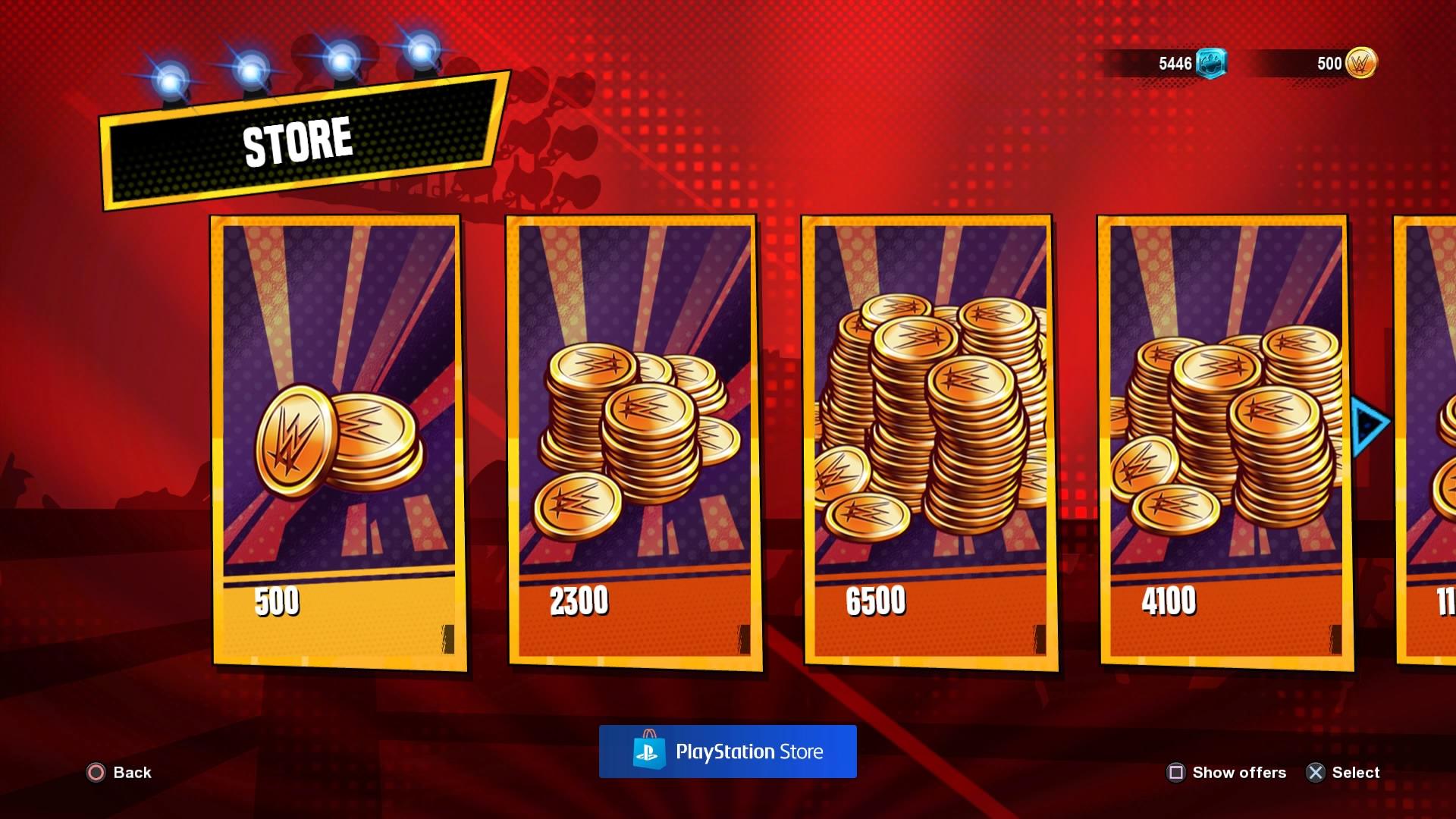 buy golden bucks at wwe 2k battlegrounds