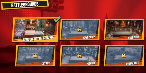 wwe 2k battlegrounds how to unlock arenas