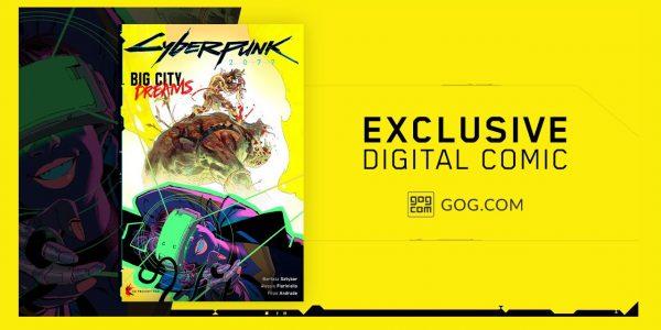 Cyberpunk 2077 Big City Dreams Exclusive Comic