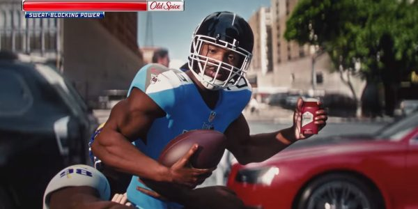 Derrick Henry appears in Old Spice Unstoppable video game ad