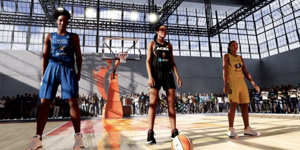Nba 2k21 wnba myplayer franchise mode and the w online mode