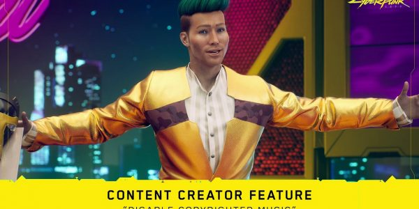 Cyberpunk 2077 Music Can be Disabled for Streaming