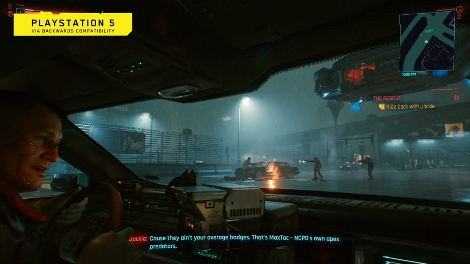 Cyberpunk 2077 PS5 Gameplay Footage Revealed