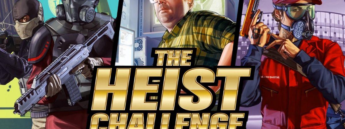 GTA Online Heist Challenge Announced 100 Billion