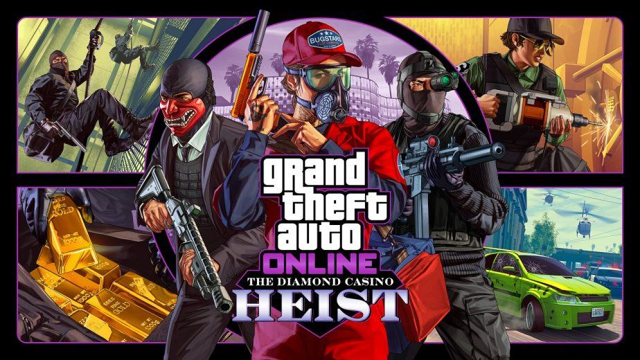 GTA Online Heist Challenge Announced 100 Billion 2