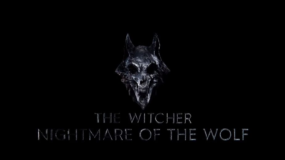 The Witcher Nightmare of the Wolf Logo Revealed