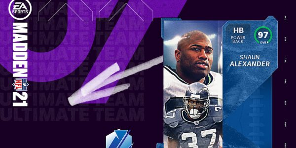 madden 21 ultimate legends shaun alexander christmas day content