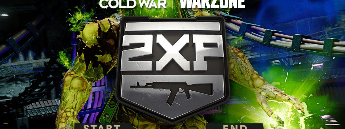 Call of Duty Black Ops Cold War Double XP Weekend 2021