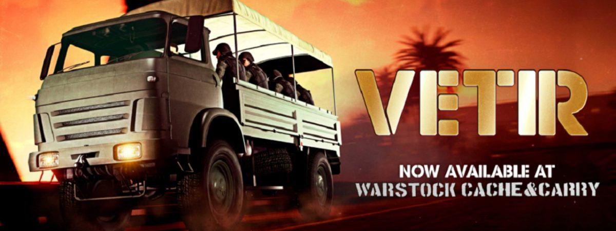 GTA Online Vetir Transport Weekly Event