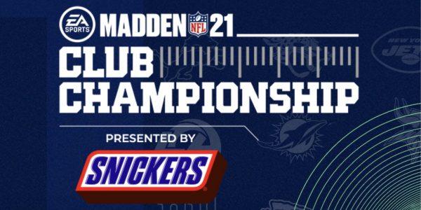 madden nfl 21 club championship schedule 32 teams compete tournament